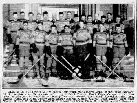 1938-39 Ottawa IS Season