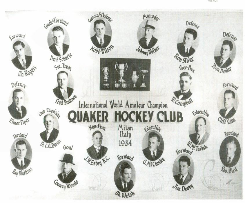 1933-34 Saskatoon Quakers