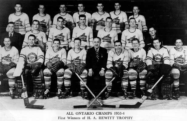 1953-54 Northern Ontario Senior Playoffs