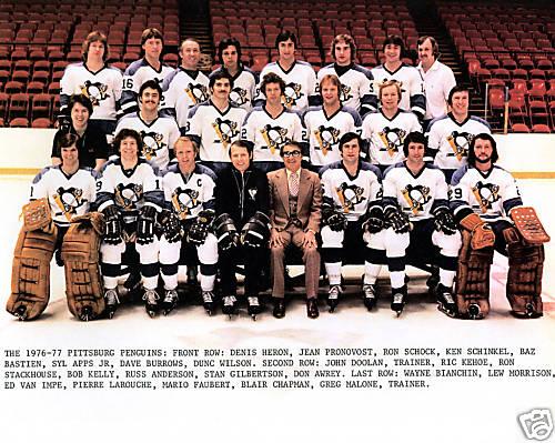 1976–77 Pittsburgh Penguins season