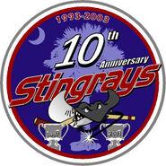 Stingrays 10th anniversary