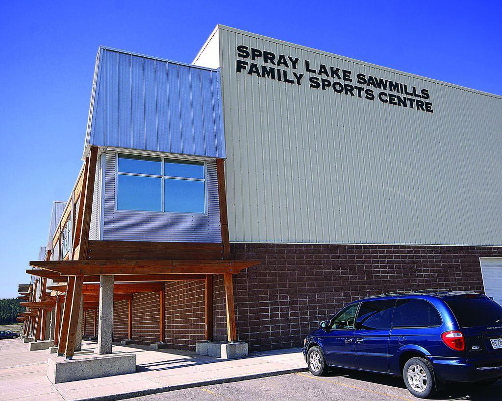 Spray Lake Sawmills Family Sports Centre