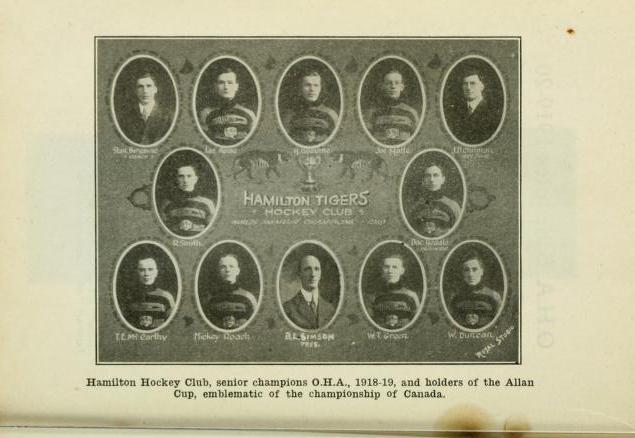 1918-19 OHA Senior Season