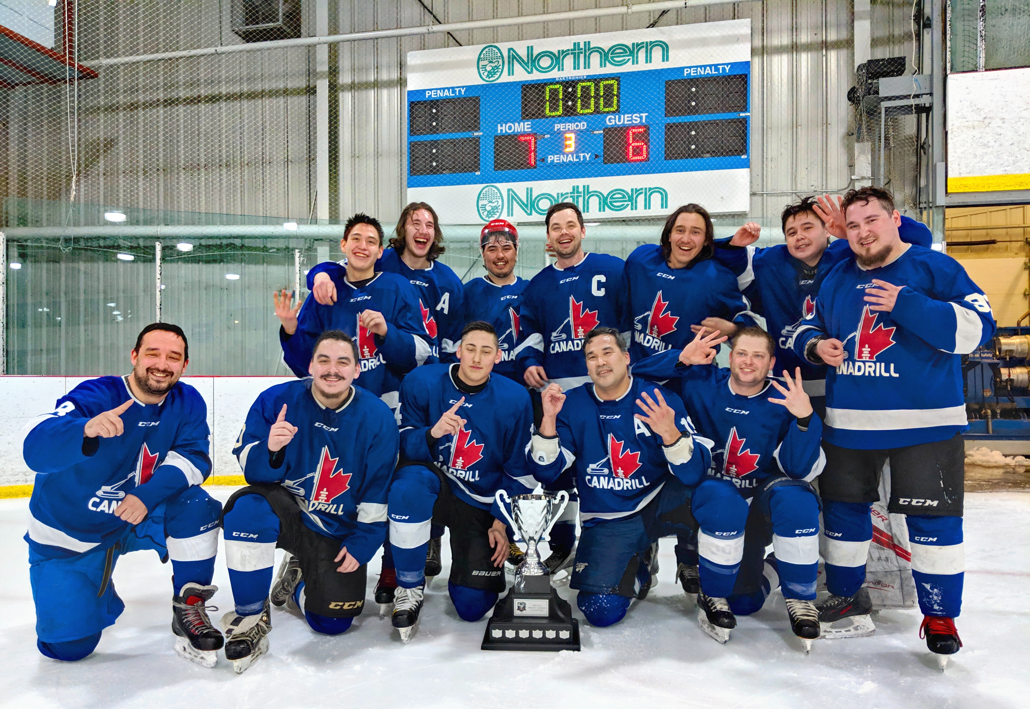 2018-19 Iqaluit Senior Hockey League season