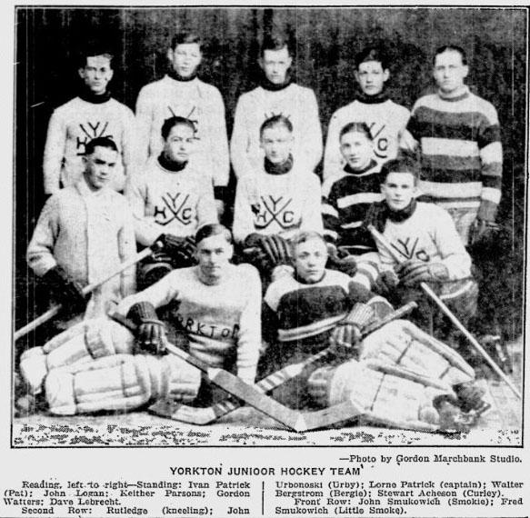 1925-26 SJHL Season