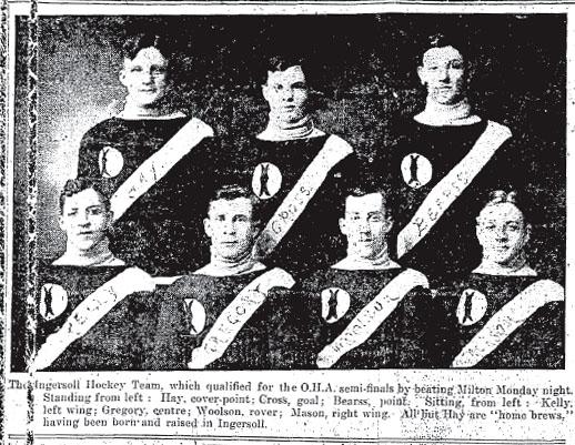 1908-09 OHA Intermediate Groups