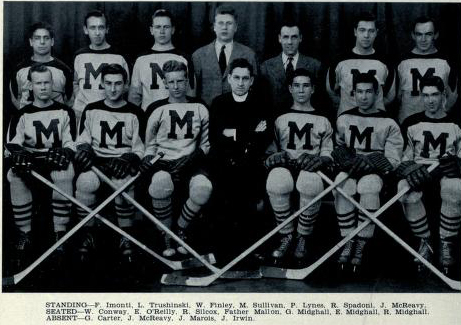 1941-42 OHA Junior B Groupings