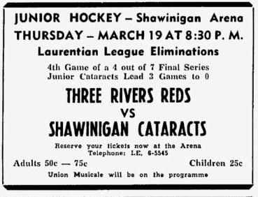 1958-59 LJHL season