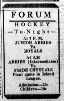 1934-35 Prince Edward Island Junior Playoffs