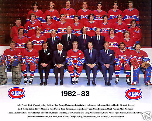 1982–83 Montreal Canadiens season