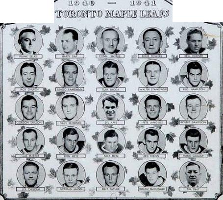 1940–41 Toronto Maple Leafs season