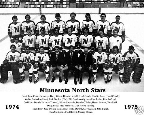 1974–75 Minnesota North Stars season