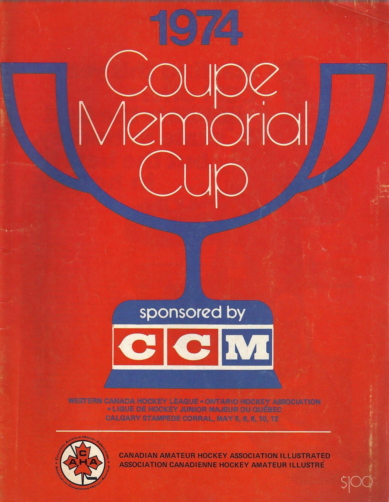 1974 Memorial Cup