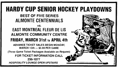 1988-89 Eastern Canada Intermediate Playoffs