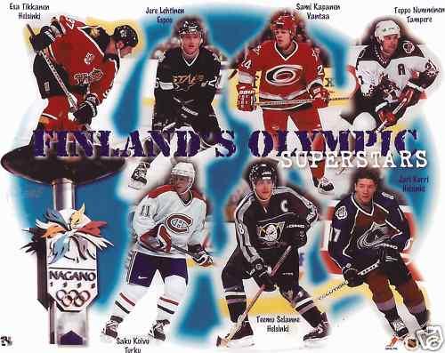 1998 Finland men's national ice hockey team