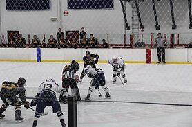 The College of New Jersey and West Chester University compete in the first round of the 2018 CSCHC Playoffs at Loucks Ice Center.
