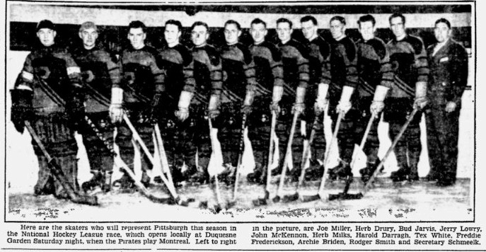 1929–30 Pittsburgh Pirates (NHL) season
