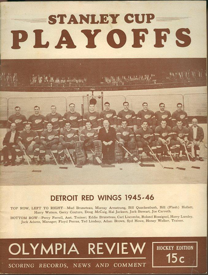 1945–46 Detroit Red Wings season