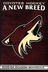 2003–04 Phoenix Coyotes season