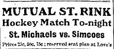 1908-09 OHA Senior Season