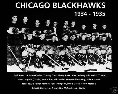 1934–35 Chicago Black Hawks season