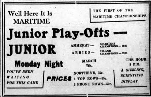 1937-38 Maritimes Junior Playoffs