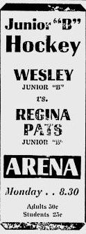 1951-52 Saskatchewan Junior B Playoffs