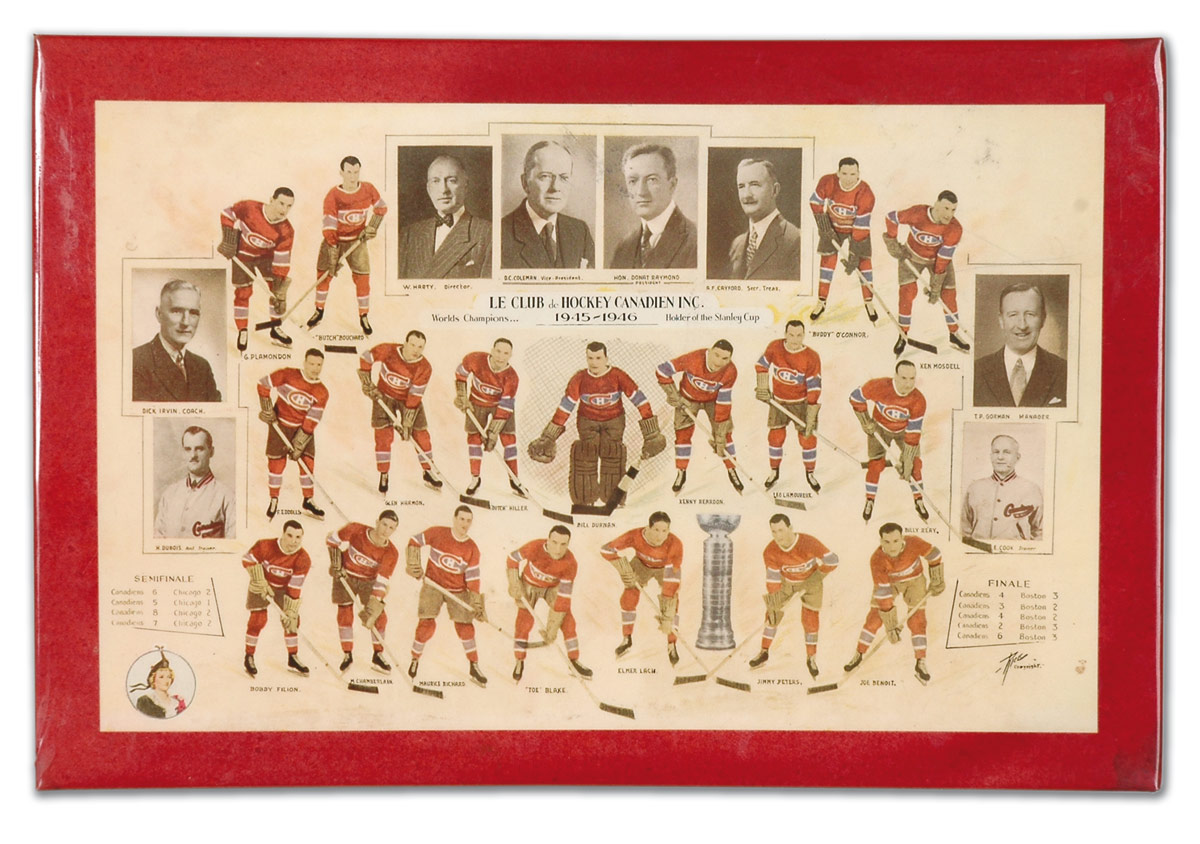 1945–46 Montreal Canadiens season