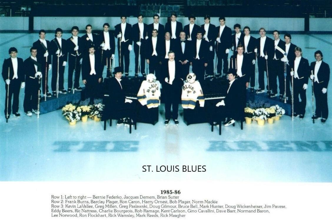 1985–86 St. Louis Blues season