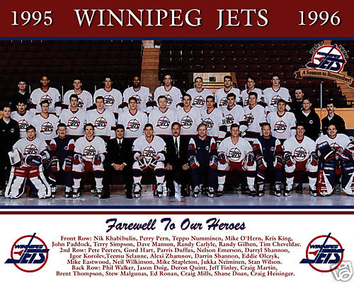 1995–96 Winnipeg Jets season