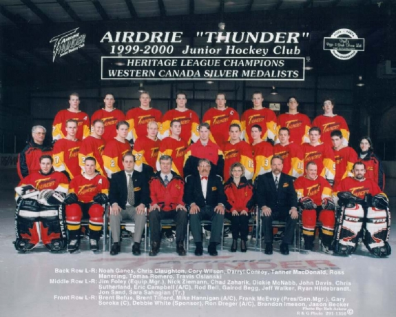 1999-00 HJBHL Season