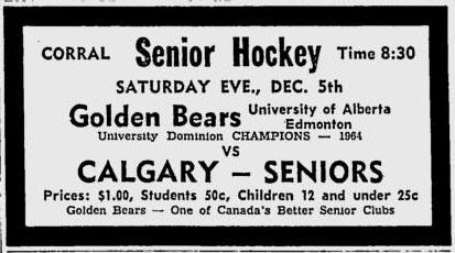 1964-65 Alberta Senior Playoffs