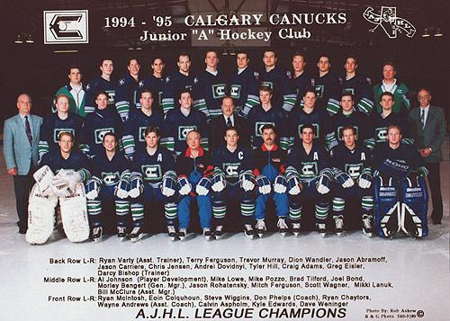 1994-95 AJHL Season
