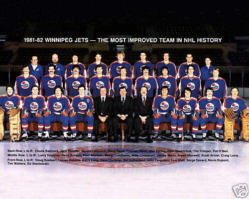 1981–82 Winnipeg Jets season