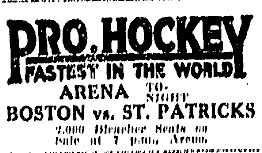 1925–26 Toronto St. Patricks season