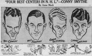1938-Mar-Bruins centers cartoon