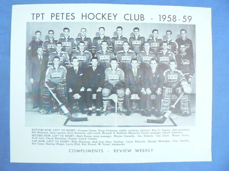 1958-59 Eastern Canada Memorial Cup Playoffs