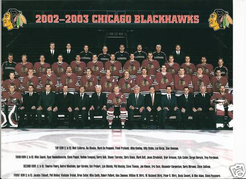 2002–03 Chicago Blackhawks season