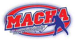 Mid-American Collegiate Hockey Association logo