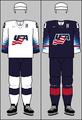 United States national ice hockey team jerseys 2018 (WOG)