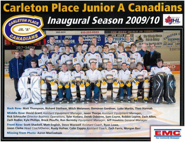 2009-10 CJHL Season