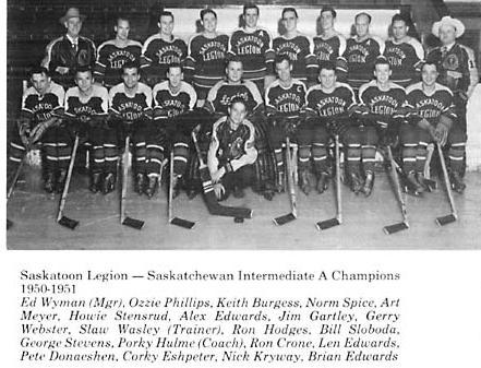 1950-51 Saskatchewan Intermediate Playoffs