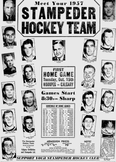 1957-58 WHL (minor pro) Season