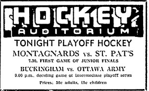 1946-47 Ottawa City Junior League