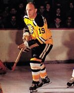 Doug Mohns gold uniform