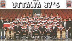 1986-87 Ottawa 67's