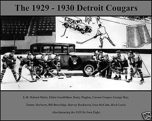 1929–30 Detroit Cougars season