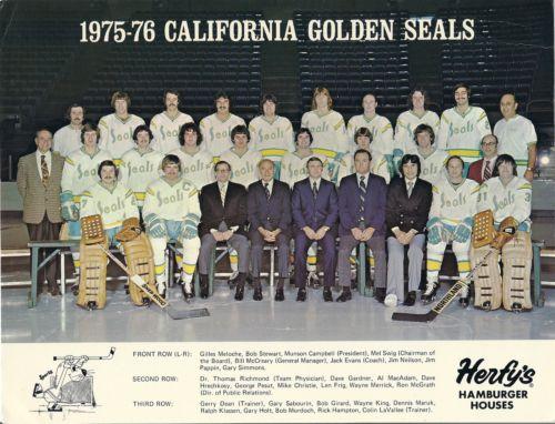 1975–76 California Golden Seals season