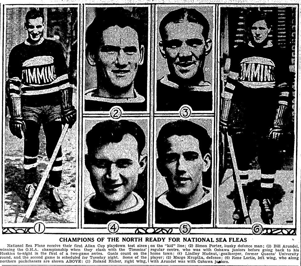 1931-32 Eastern Canada Allan Cup Playoffs