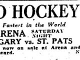 1924–25 Toronto St. Patricks season